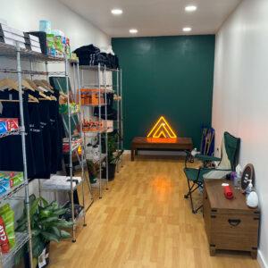 Last Lap Corner Store Interior