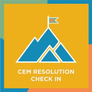CEM Resolution Check In